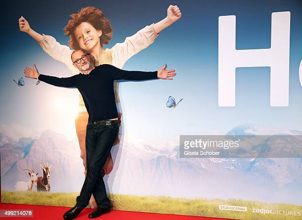 Peter Lohmeyer during the German premiere of the film 'HEIDI' at Mathaeser Filmpalast on November 29 2015 in Munich Germany