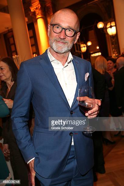 Peter Lohmeyer during the Hessian Film and Cinema Award 2015 at Alte Oper on October 16 2015 in Frankfurt am Main Germany