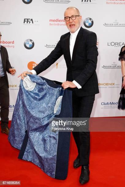 Peter Lohmeyer during the Lola German Film Award red carpet arrivals at Messe Berlin on April 28 2017 in Berlin Germany