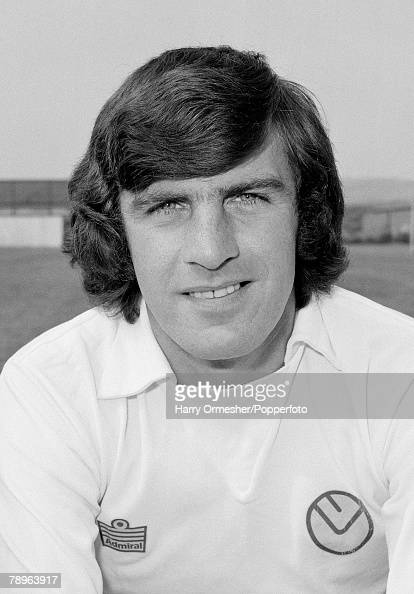 Leeds United Photocall Peter Lorimer 5th August 1975