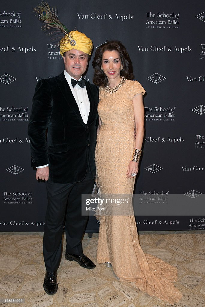 Peter Lyden and Fe Fendi attend the School of American Ballet 2013 Winter Ball at David H. Koch Theater, Lincoln Center on March 11, 2013 in New York City.