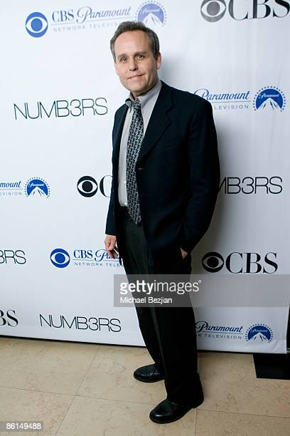 Peter MacNicol arrives at the 'NUMB3RS' 100th Episode Bash at the Sunset Tower Hotel on April 21 2009 in West Hollywood California