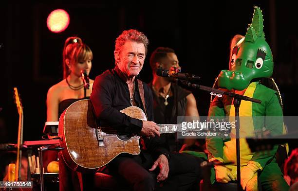 Peter Maffay during the 'Tabaluga Es lebe die Freundschaft' record release at Das Schloss on October 28 2015 in Munich Germany