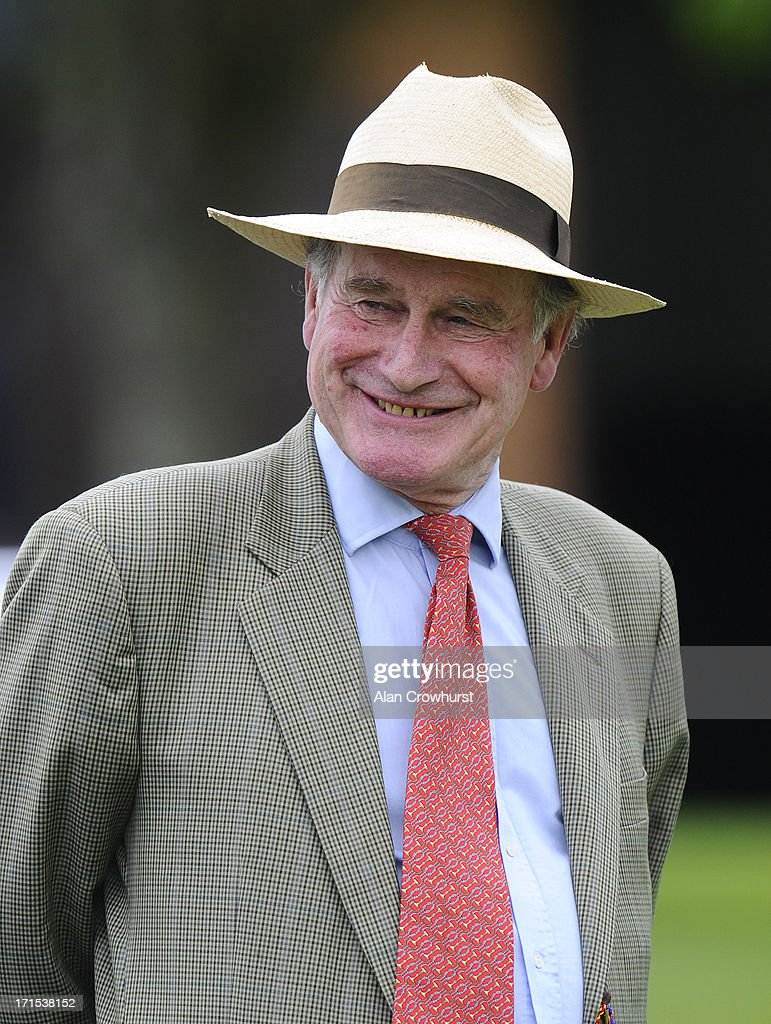 Peter Makin attends the Salisbury Races at the Salisbury racecourse on June 26, 2013 in Salisbury, England.