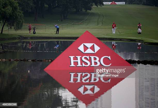 Peter Malnati of the USA hits a shot during the third round of the 2015 Brasil Champions Presented by HSBC at the Sao Paulo Golf Club on March 15...