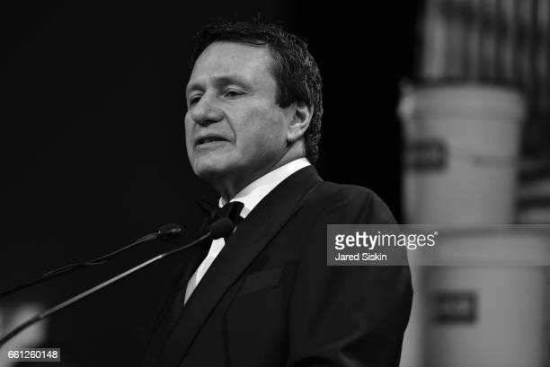 Peter Mann speaks at the First Annual Medair Gala at Stephan Weiss Studio on March 30 2017 in New York City