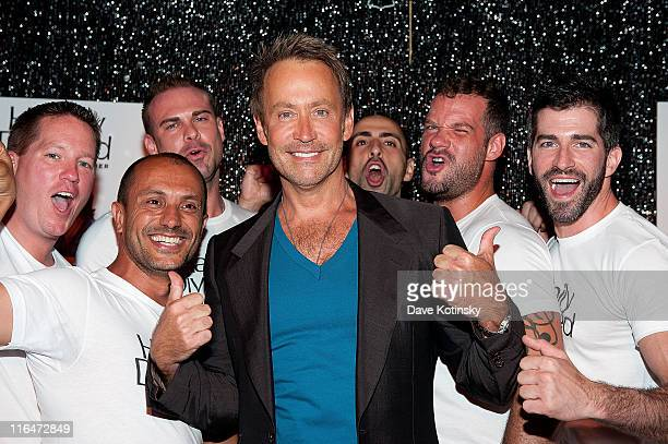 Peter Marc Jacobson attends the exclusive screening of TV Land's sitcom 'Happily Divorced' hosted by Fran Drescher at Industry Bar on June 15 2011 in...