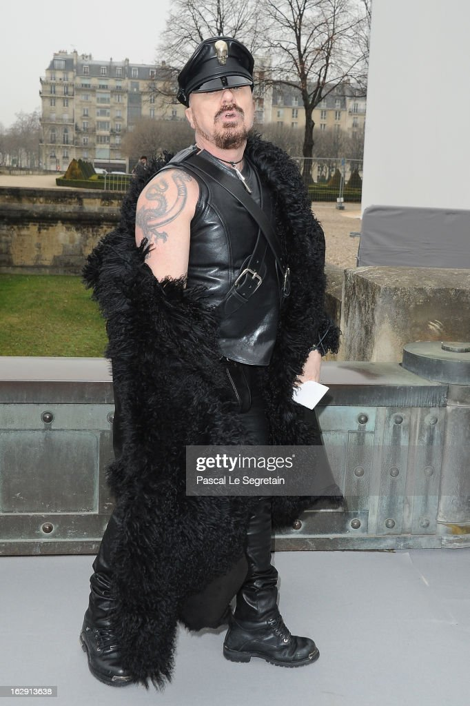 Peter Marino arrives to attend the Christian Dior Fall/Winter 2013 Ready-to-Wear show as part of Paris Fashion Week on March 1, 2013 in Paris, France.