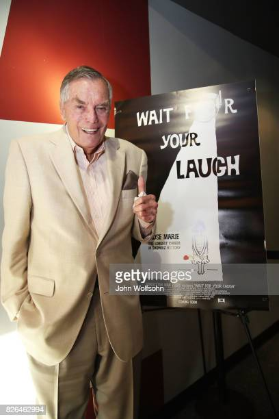 Peter Marshall attends the special screening and QA 'Rose Marie Wait for Your Laugh' at Aero Theatre on August 3 2017 in Santa Monica California