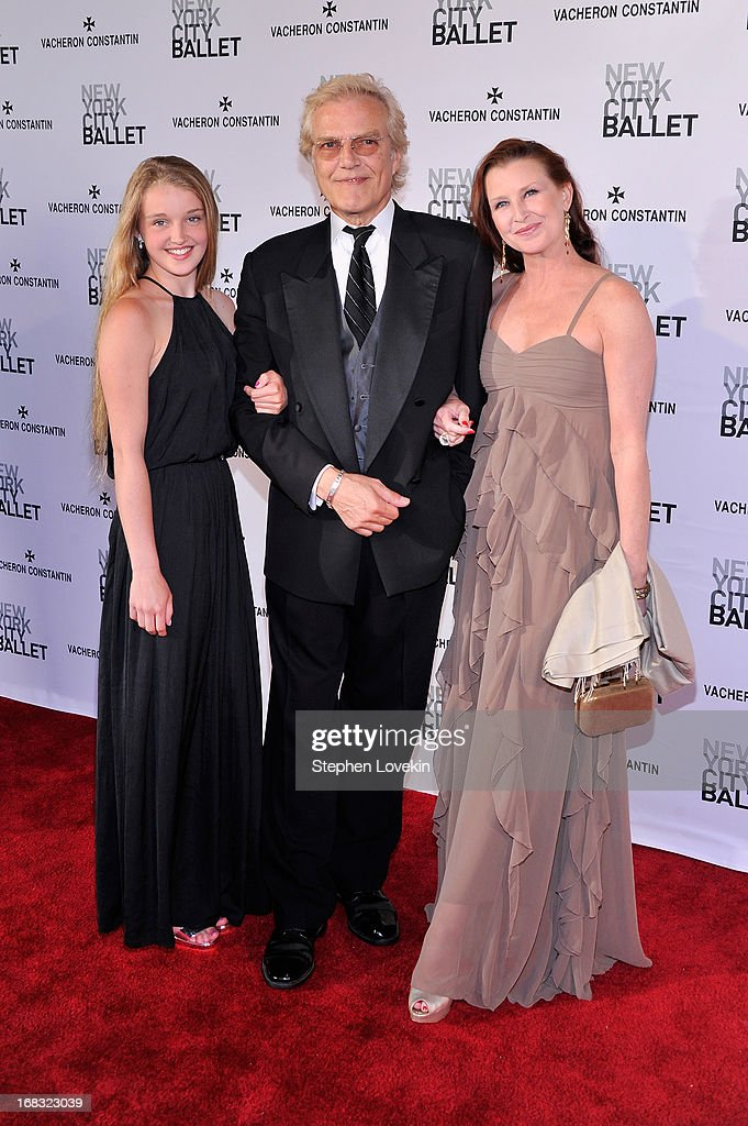 <a gi-track='captionPersonalityLinkClicked' href=/galleries/search?phrase=Peter+Martins&family=editorial&specificpeople=215402 ng-click='$event.stopPropagation()'>Peter Martins</a> and his famimly attend New York City Ballet's Spring 2013 Gala at David H. Koch Theater, Lincoln Center on May 8, 2013 in New York City.