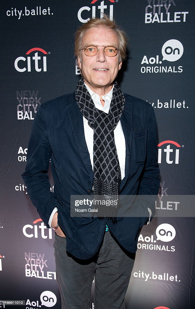 <a gi-track='captionPersonalityLinkClicked' href=/galleries/search?phrase=Peter+Martins&family=editorial&specificpeople=215402 ng-click='$event.stopPropagation()'>Peter Martins</a> attends AOL On's 'city.ballet' series premiere at Tribeca Cinemas on November 4, 2013 in New York City.
