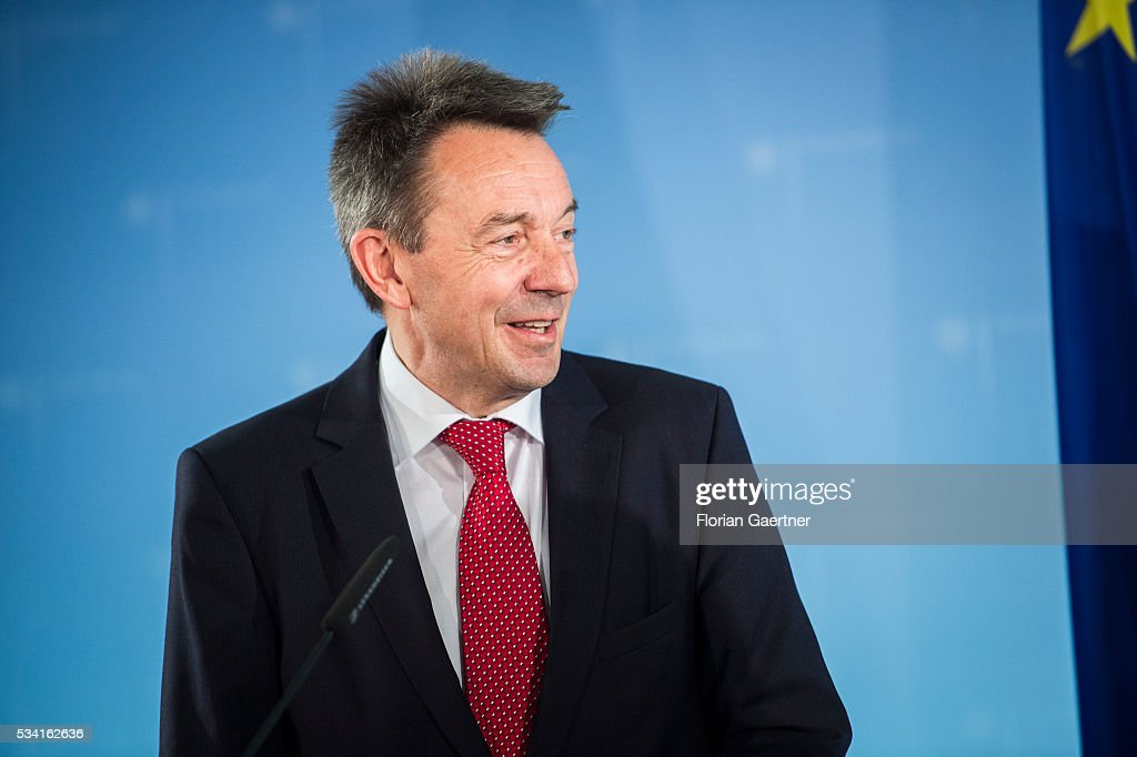 Peter Maurer, President of the International Committee of the Red Cross (ICRC), on May 25, 2016 in Berlin, Germany.