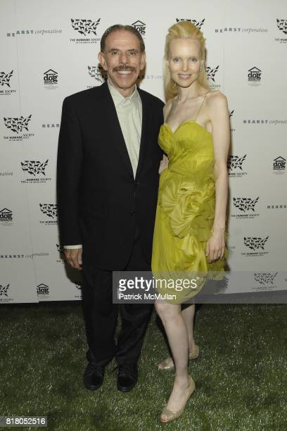 Peter Max and Mary Max attend Humane Society of the United States' MAKE HISTORY GALA at Pierre Hotel on September 22 2010 in New York City