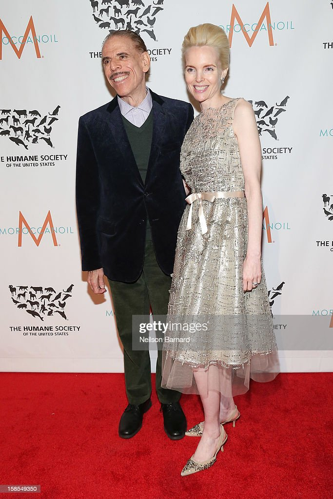 Peter Max and Mary Max attend The Humane Society of the United States' To the Rescue! New York Gala at Cipriani 42nd Street on December 18, 2012 in New York City.