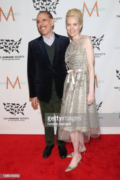 Peter Max and Mary Max attend The Humane Society of the United States' To the Rescue New York Gala at Cipriani 42nd Street on December 18 2012 in New...