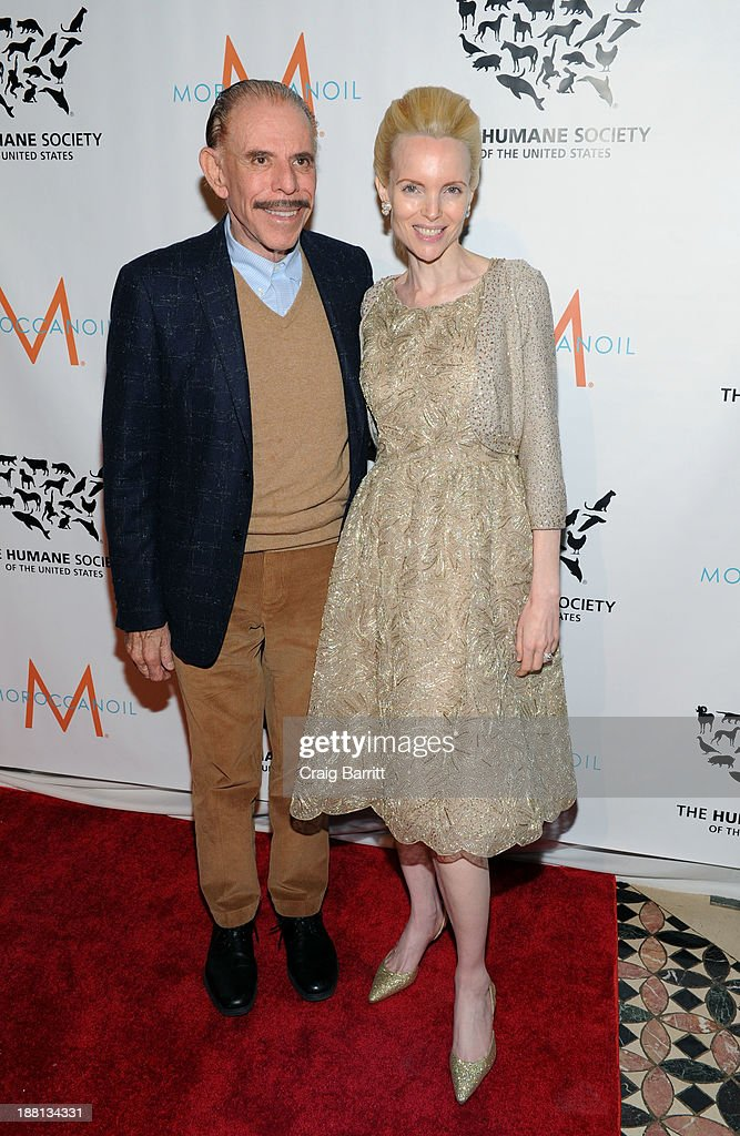 Peter Max attends HSUS 'To the Rescue New York' benefit at Cipriani 42nd Street on November 15 2013 in New York City