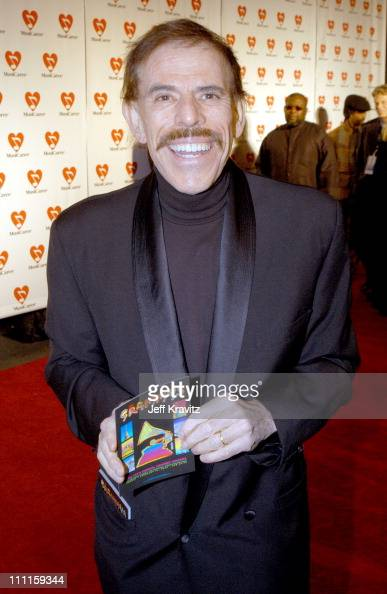 Peter Max during The 45th GRAMMY Awards MusiCares 2003 Person of the Year Bono Arrivals by Jeff Kravitz at Marriott Marquis in New York City New York...