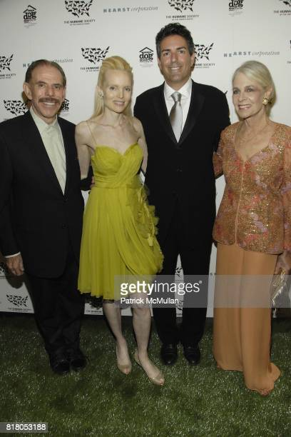 Peter Max Mary Max Wayne Pacelle and Frances Hayward attend Humane Society of the United States' MAKE HISTORY GALA at Pierre Hotel on September 22...