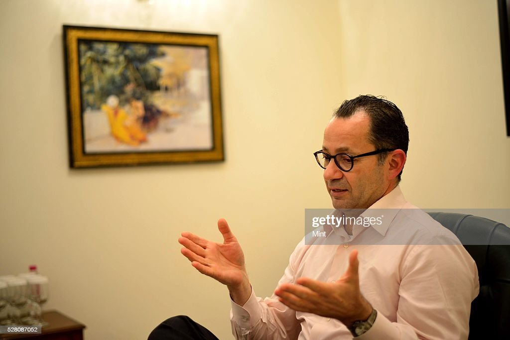 Peter Mercieca, Global Head of Media - Telecom Practice, KPMG, during an exclusive interview on October 9, 2015 in New Delhi, India.
