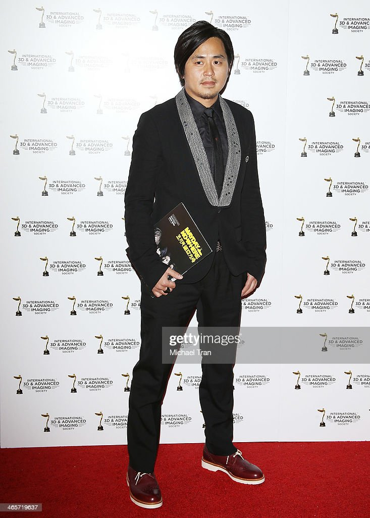 Peter Ming arrives at the 2014 International 3D and Advanced Imaging Society's Creative Arts Awards held at Steven J. Ross Theatre on January 28, 2014 in Burbank, California.