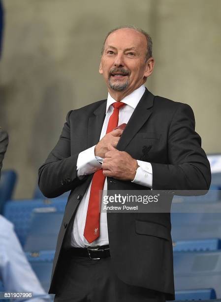 Peter Moore Chiel Executive of Liverpool during the UEFA Champions League Qualifying PlayOffs Round First Leg match between 1899 Hoffenheim and...