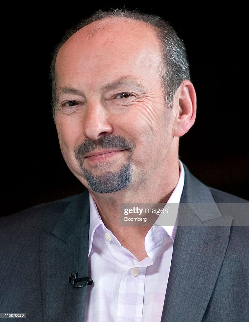Peter Moore, president of Electronic Arts Inc.'s EA Sports, attends a Bloomberg via Getty Images West Television interview on the sidelines of the Electronic Entertainment Expo (E3) in Los Angeles, California, U.S., on Wednesday, June 8, 2011. Electronic Arts Inc. previewed 'Need for Speed: The Run,' a racing game similar to Take-Two Interactive Software Inc.'s 'Grand Theft Auto' series. Photographer: Jonathan Alcorn/Bloomberg via Getty Images