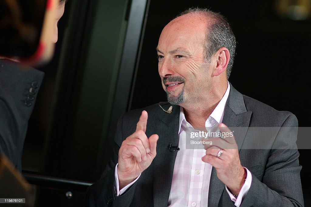 Peter Moore, president of Electronic Arts Inc.'s EA Sports, speaks during a Bloomberg via Getty Images West Television interview on the sidelines of the Electronic Entertainment Expo (E3) in Los Angeles, California, U.S., on Wednesday, June 8, 2011. Electronic Arts Inc. previewed 'Need for Speed: The Run,' a racing game similar to Take-Two Interactive Software Inc.'s 'Grand Theft Auto' series. Photographer: Jonathan Alcorn/Bloomberg via Getty Images