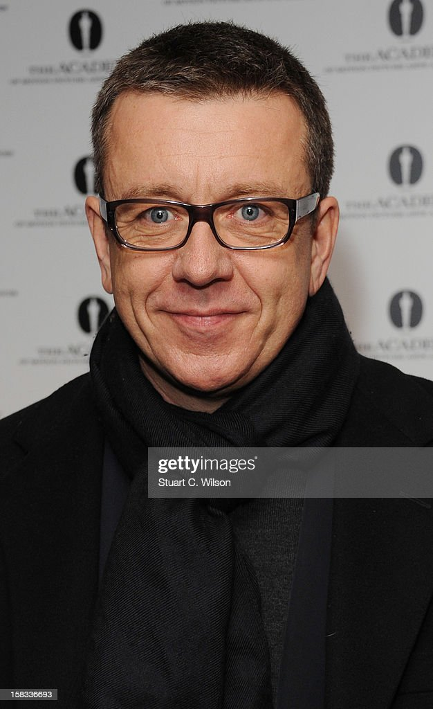 Peter Morgan attends as The Academy of Motion Picture Arts and Sciences honours director Pedro Almodovar at Curzon Soho on December 13, 2012 in London, England.