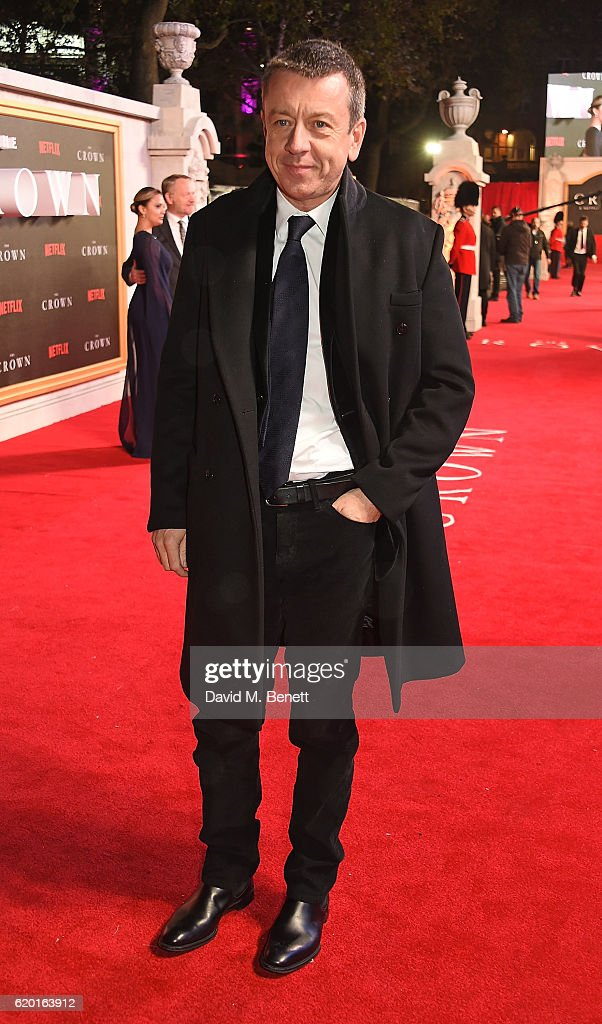 Peter Morgan attends the World Premiere of new Netflix Original series 'The Crown' at Odeon Leicester Square on November 1, 2016 in London, England.