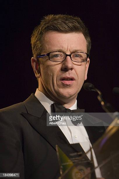Peter Morgan during 50th Annual San Francisco International Film Festival Film Society Awards Night at Westin St Francis Hotel in San Francisco CA...