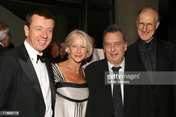 Peter Morgan Helen Mirren Stephen Frears and James Cromwell