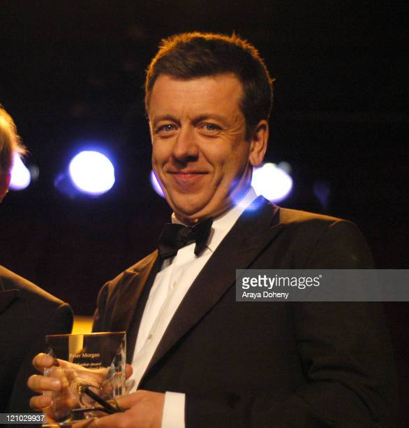 Peter Morgan Recipient of the Kanbar Award during 50th Annual San Francisco International Film Festival Film Society Awards Night at Westin St...