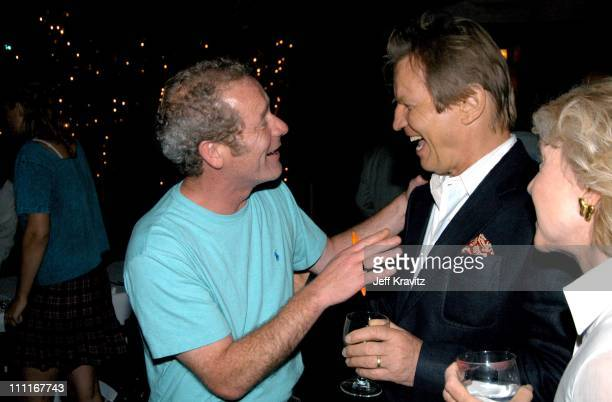 Peter Mullan and Michael York during 'The Magdalene Sisters' Hollywood Premiere at Arclight Cinema in Hollywood California United States