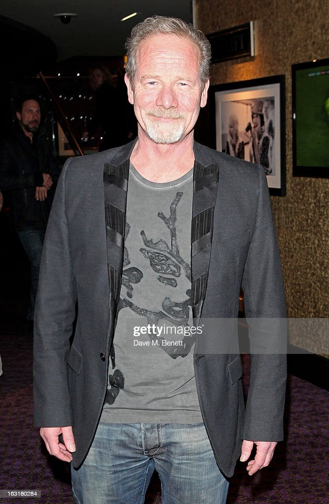 Peter Mullan attends an after party following the 'Welcome To The Punch' UK Premiere at the Hippodrome Casino on March 5, 2013 in London, England.