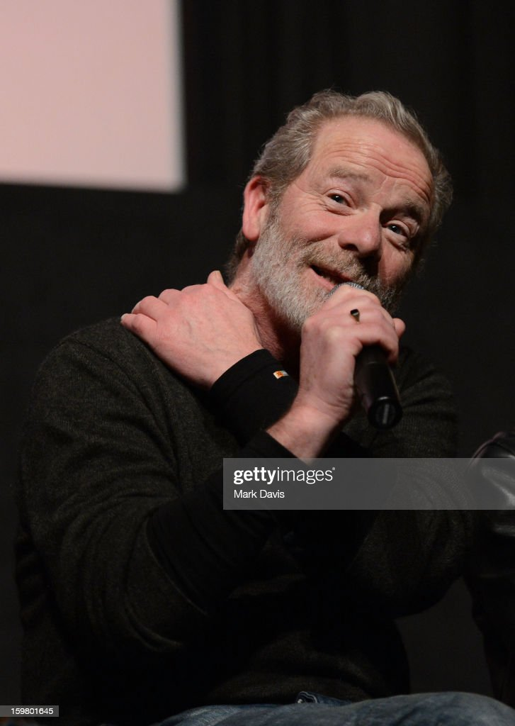 Peter Mullan attends the premiere of Sundance Channel Original Series 'Top of the Lake' on January 20, 2013 in Park City, Utah.
