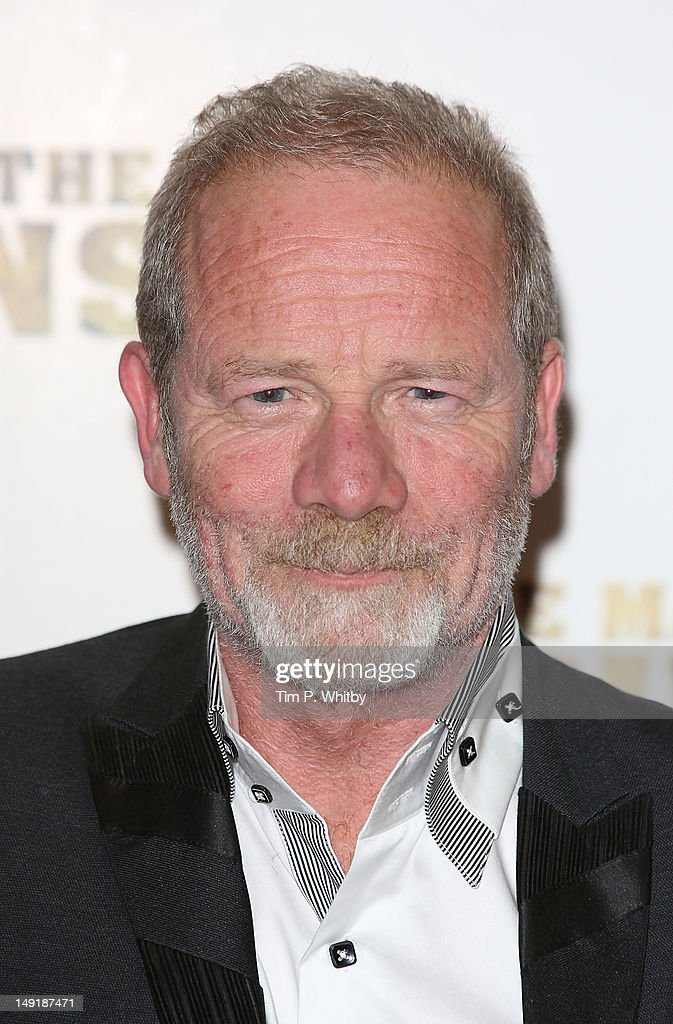 Peter Mullan attends the premiere of 'The Man Inside' at Vue Leicester Square on July 24, 2012 in London, England.