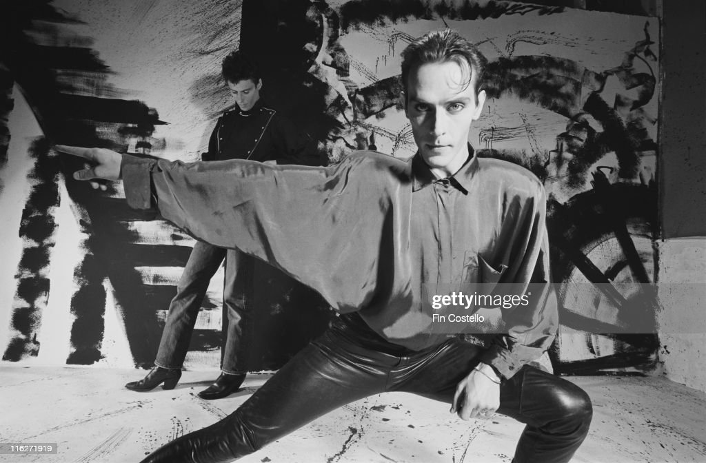 Peter Murphy, British singer, poses for a portrait at Rufus Street Studios, on Rufus Street, London, England, Great Britain, in July 1986. Originally the singer with gothic rock band, Bauhaus, Murphy is often referred to as the 'Godfather of Goth'.