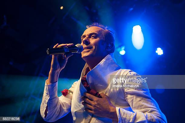 Peter Murphy performs live on stage at O2 Academy Islington on May 18 2016 in London England