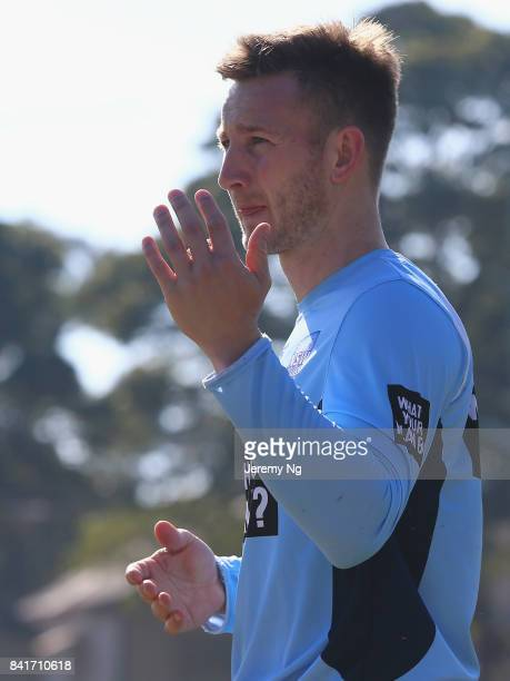 Peter Nevill of Cricket NSW instructs his players during the Cricket NSW Intra Squad Match at Hurstville Oval on September 2 2017 in Sydney Australia