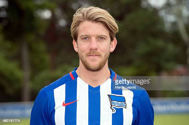 Peter Niemeyer of Hertha BSC during the Training of Hertha BSC on july 10 2015 in Berlin Germany