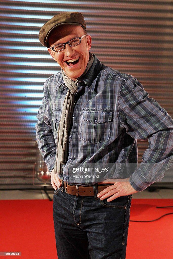 Peter Nottmeier attends the 'RTL Spendenmarathon' at RTL Studios on November 23, 2012 in Cologne, Germany.