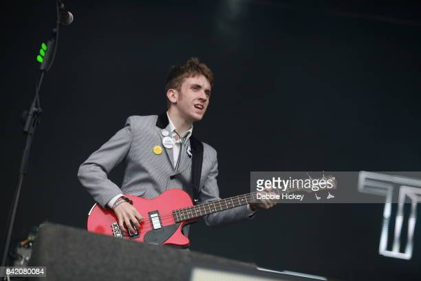 Peter O Hanlon of The Strypes performs at Electric Picnic Festival at Stradbally Hall Estate on September 2 2017 in Dublin