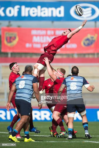 Peter O'Mahony of Munster pictured in action during the Guinness PRO14 Conference A Round 5 match between Munster Rugby and Cardiff Blues at Thomond...