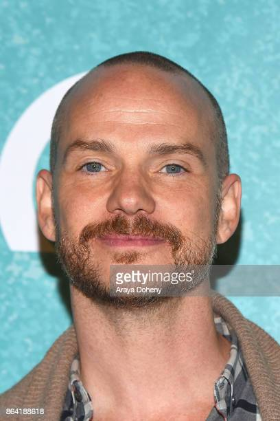 Peter Paige attends the opening night of 'Bright Star' at Ahmanson Theatre on October 20 2017 in Los Angeles California