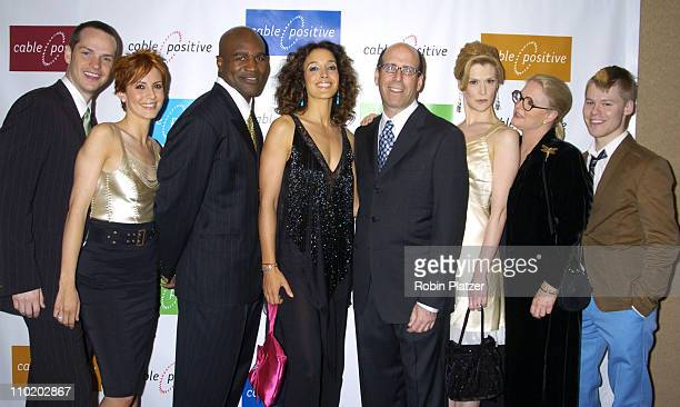 Peter Paige Michelle Clunie Evander Holyfield Jennifer Beals Matthew Blank Thea Gill Sharon Gless and Randy Harrison