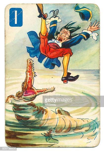 Peter Pan e Wendy Pepys carta da gioco 1939