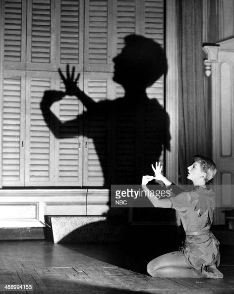 PRODUCERS' SHOWCASE 'Peter Pan' Episode 107 Pictured Mary Martin as Peter Pan