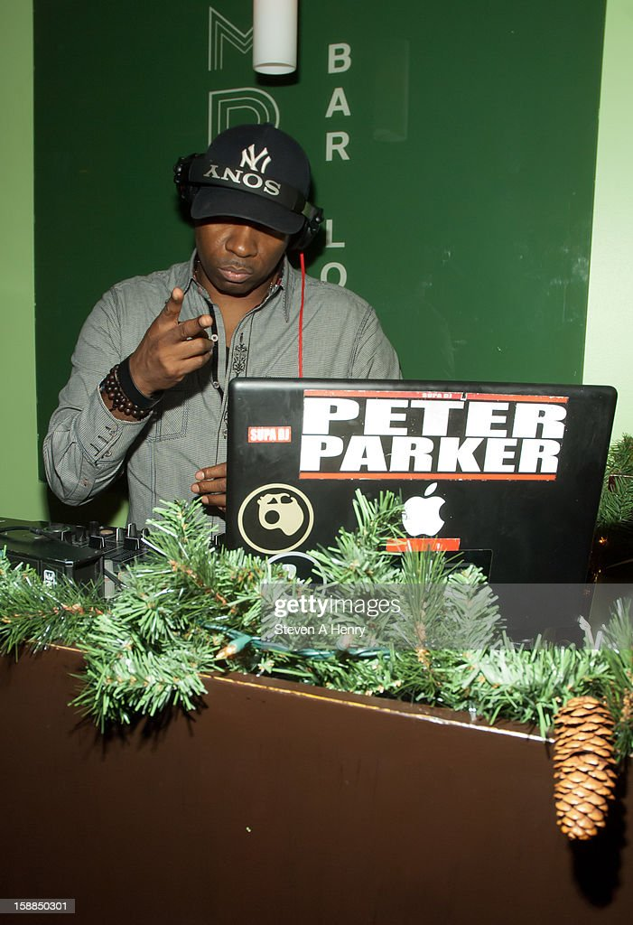 DJ Peter Parker attends New Year's Eve 2013>> at Bamboo 52 on December 31, 2012 in New York City.