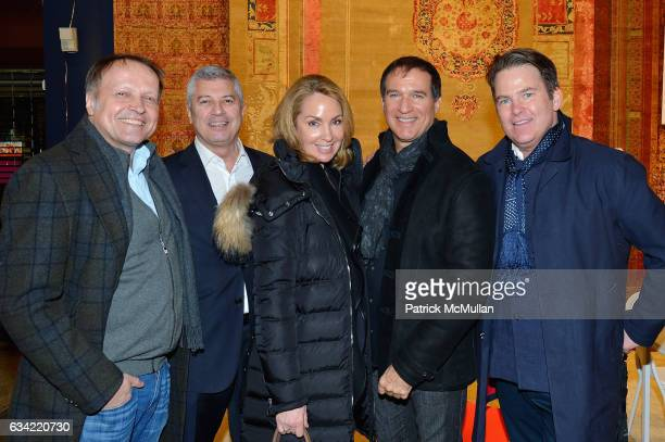 Peter Pawlak Carl Adams Suzanne Johnson Mark Johnson and Paul Ausitn attend the ABC Carpet Home and Obeetee Celebrate the Launch of the Tarun...