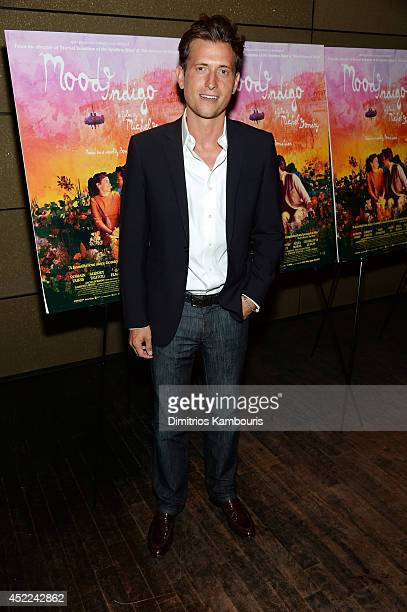 Peter Peter Cincotti attends the 'Mood Indigo' New York premiere at Tribeca Grand Hotel on July 16 2014 in New York City